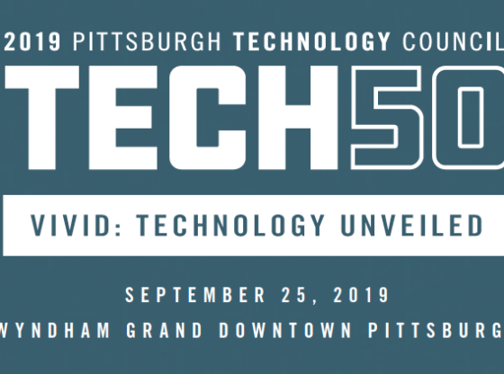 Pittsburgh Technology Council Announces Category Leaders of the 2019 Tech 50 Awards